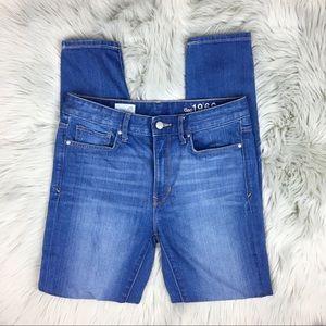 GAP 1969 High Rise Stretchy Skinny Jeans 28R